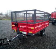 Egytengelyes pótkocsi Metal Fach 2, 5t- 5 t