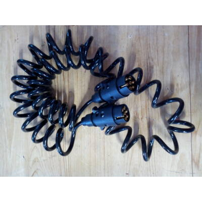Elektromos vezeték 7 pólus spirál